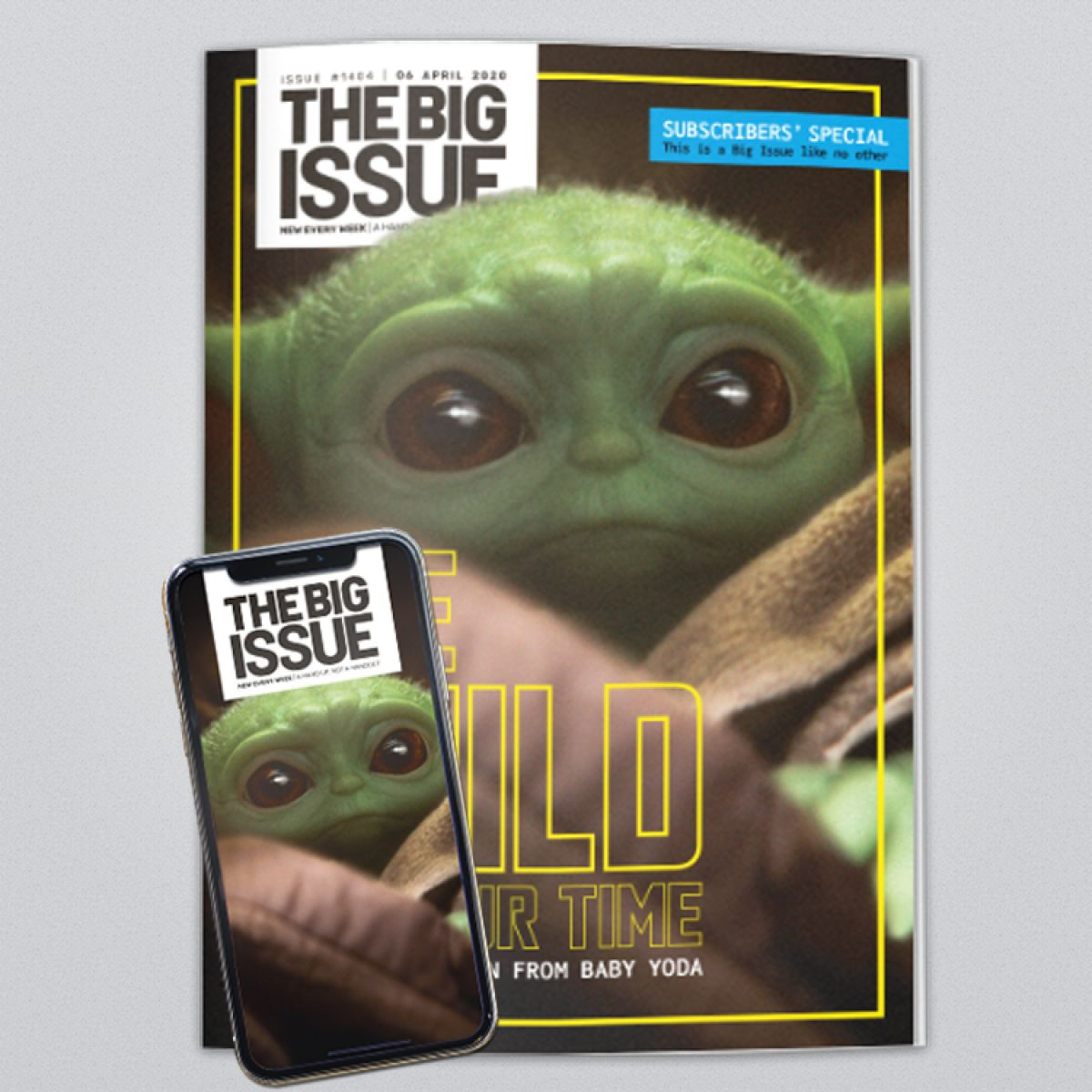 Issue 1404 - Baby Yoda | The Big Issue