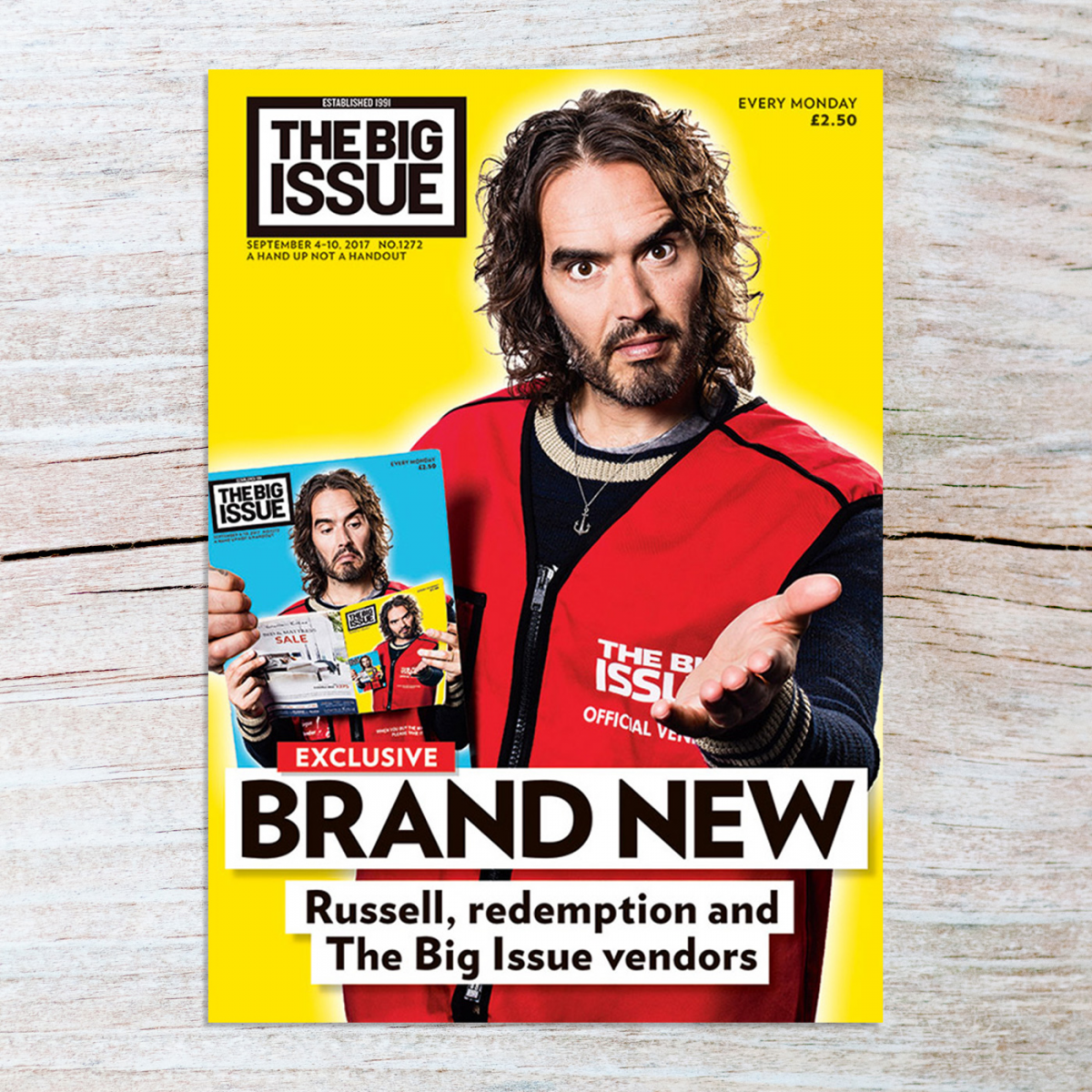 Issue 1272 Russell Brand The Big Issue