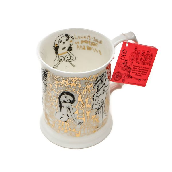 Peters Naked Ladies Tankard  The Big Issue-4378